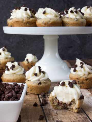 cheesecake cookie cups