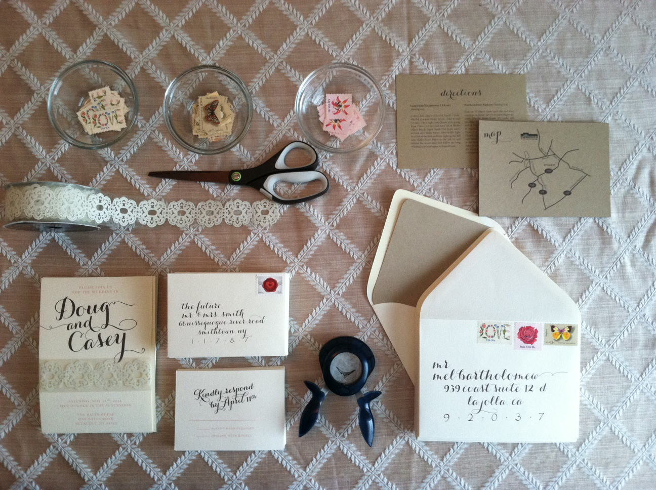 Diy Wedding Invitations With Photo Diy Rustic Wedding Invitation Sugar Studios