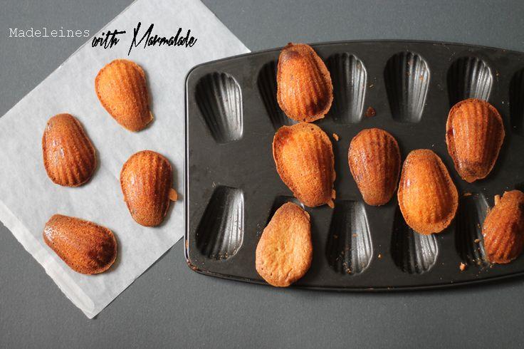 Marmalade madeleines recipe | sugar thumb