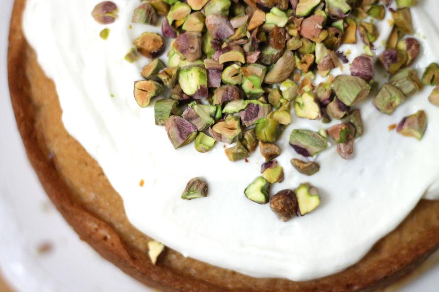 Pistachio, Coffee & Marscapone Cake | Sugar Thumb