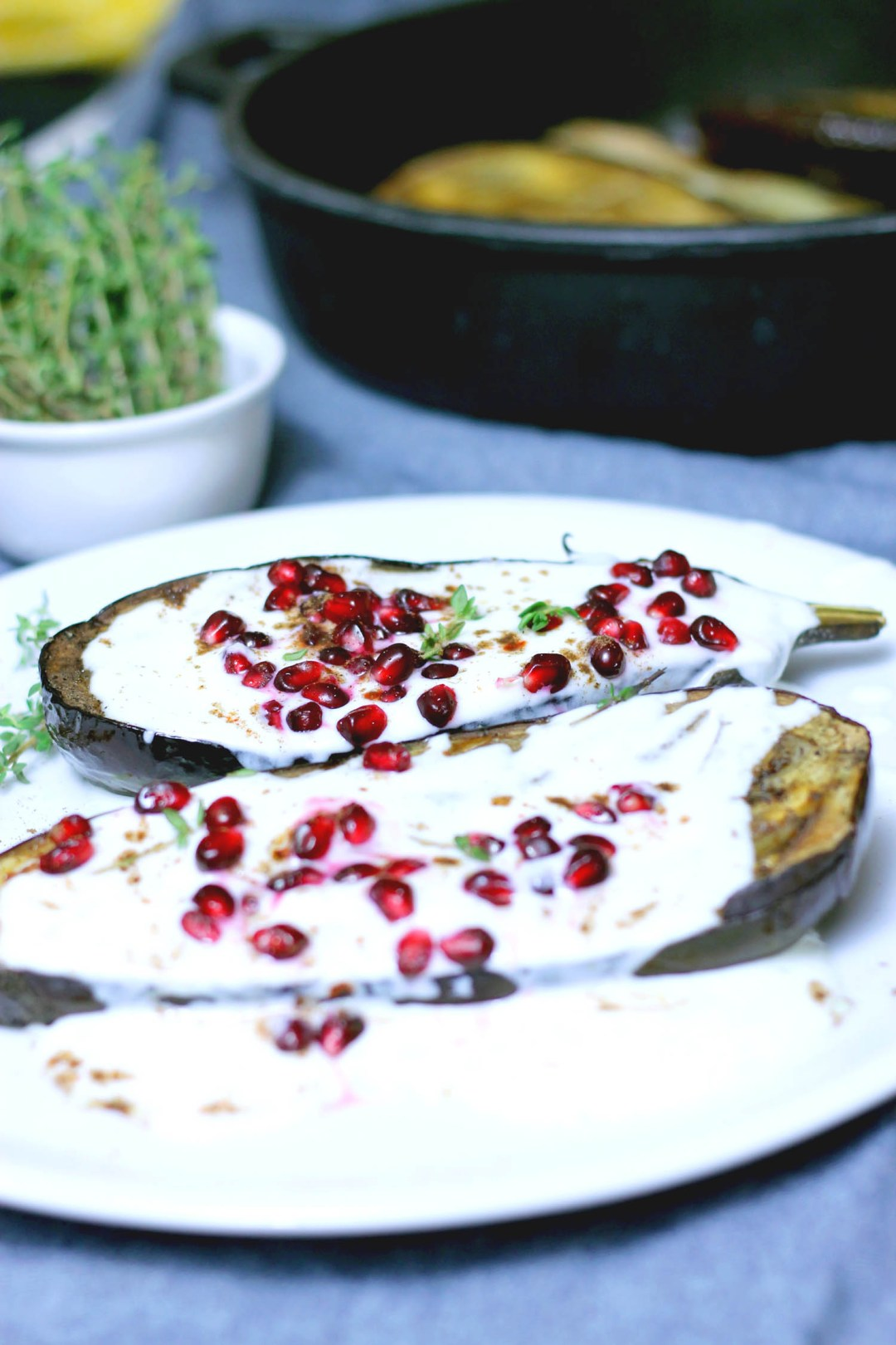 Middle Eastern Aubergine recipe | Sugar Thumb