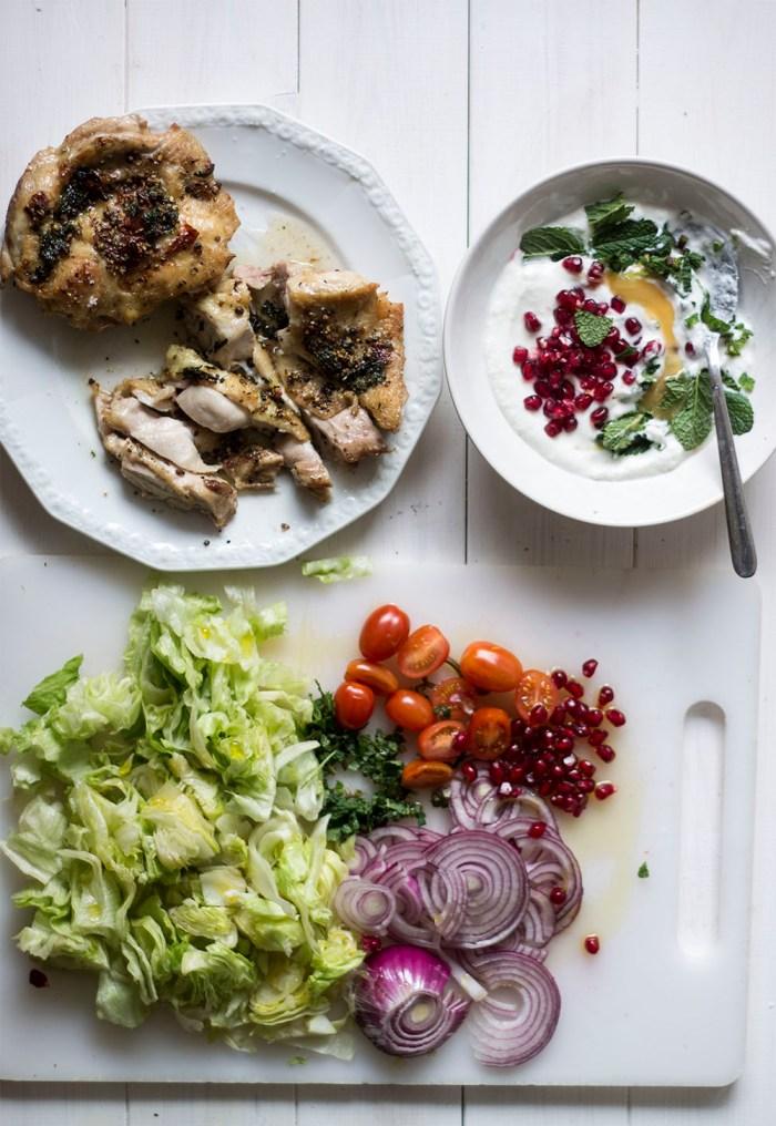 healthy chicken wraps recipe