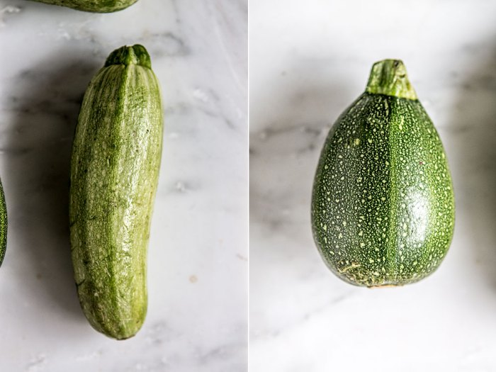 cooking with courgettes