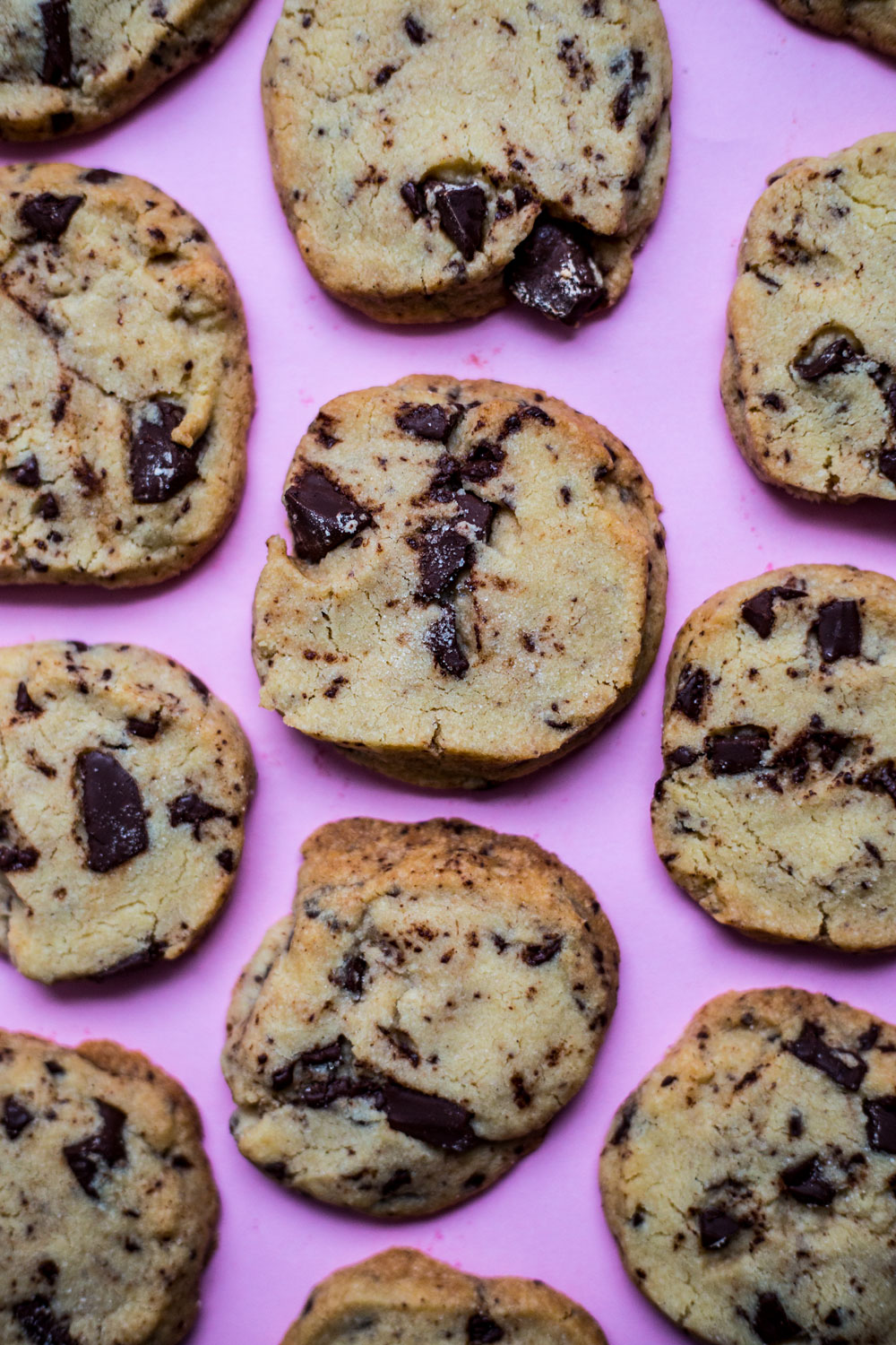 shortbread cookies chocolate chip recipe