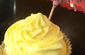 Piña Colada Cupcake