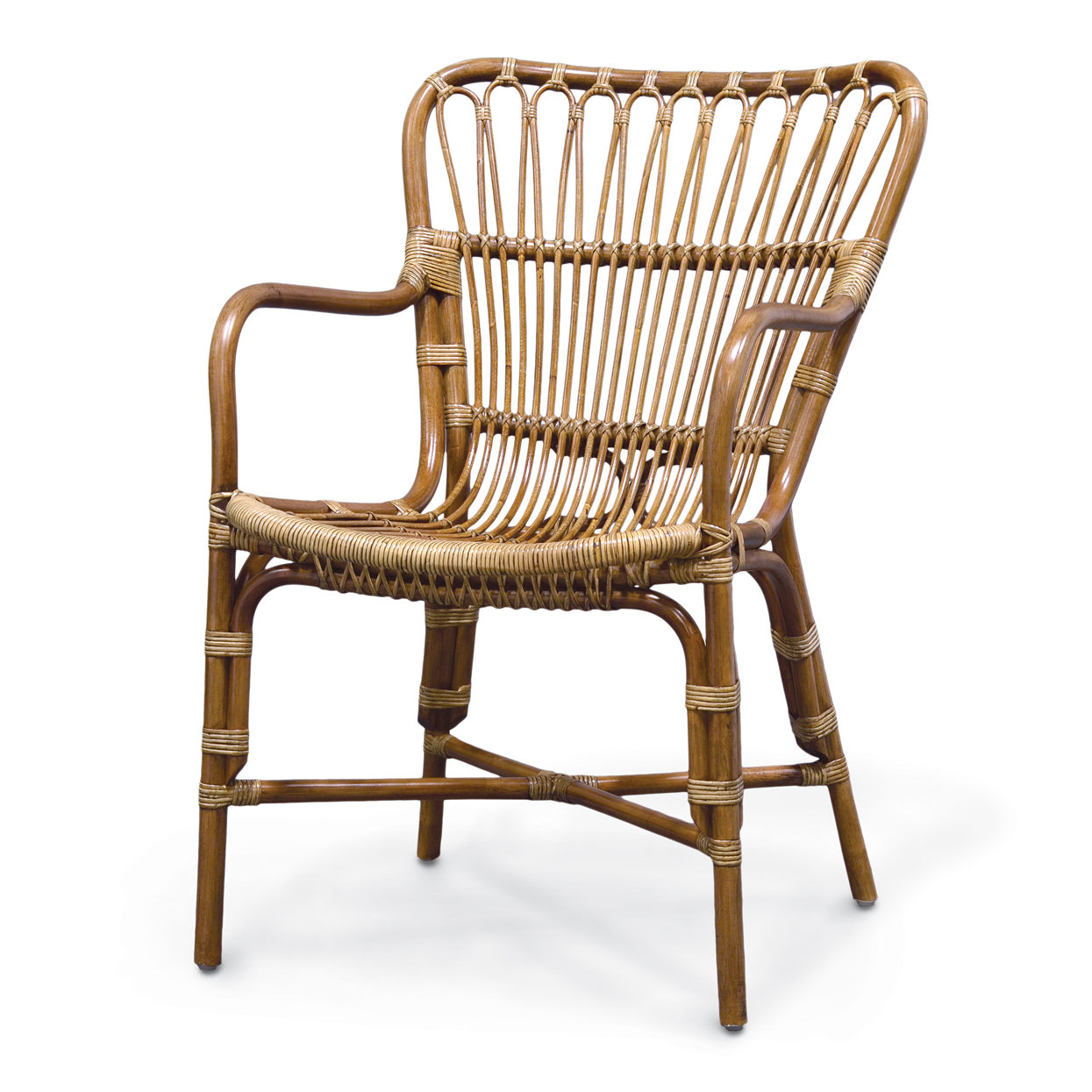Retro Rattan Chair Sugarwood Unique Style Furniture