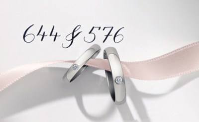 His & Hers One Diamond Band_pair ring