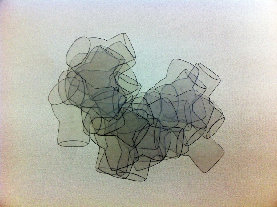 Translucent \/ Tracing paper collage 11jpg (900×672) Prompts for - graph paper