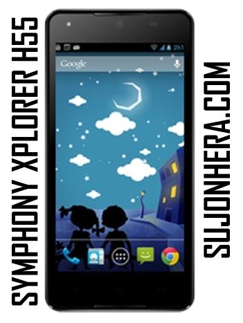 Symphony Xplorer H55 Full Phone Specifications & Price
