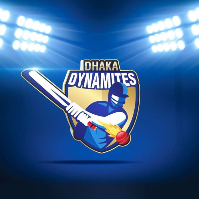 DHAKA DYNAMITES LOGO FOR BPL T20 2016