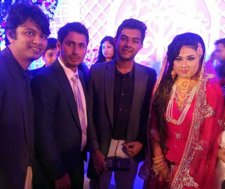 Mohammad Ashraful Marriage Wedding Photos with Anika Orchi