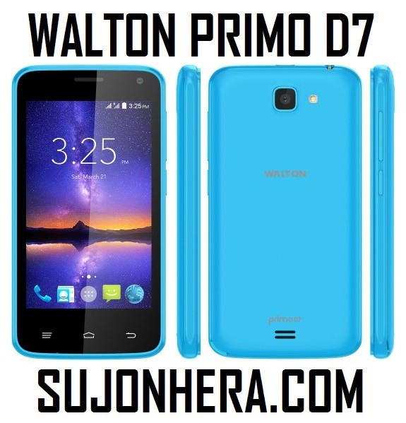 Walton Primo D7 Android Phone Full Specifications & Price
