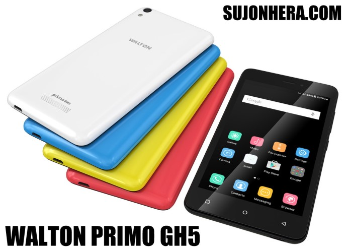 Walton Primo GH5 Android Phone Full Specifications & Price