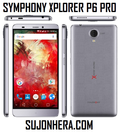 Symphony Xplorer P6 Pro Full Phone Specifications & Price