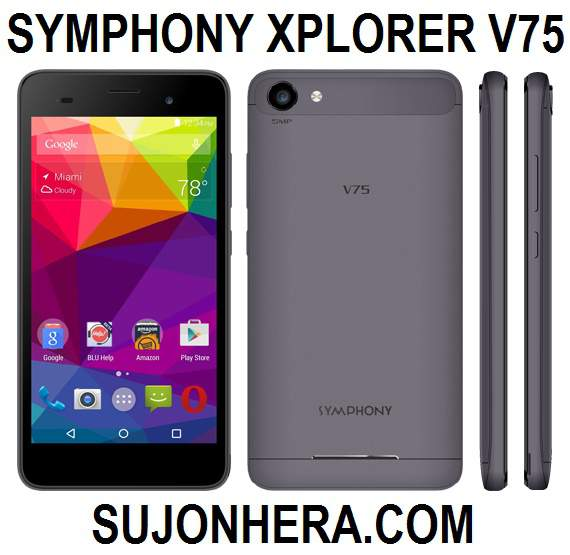Symphony Xplorer V75 Full Phone Specifications & Price