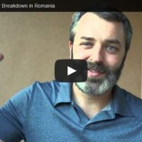 How God Blessed Our Breakdown in Romania