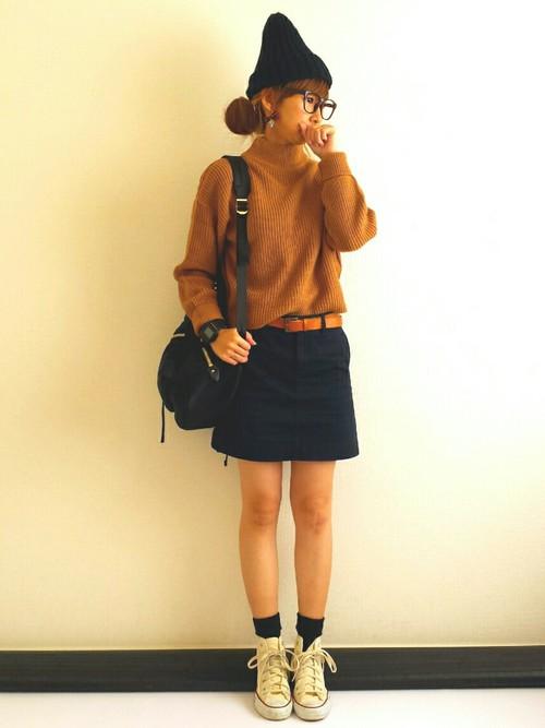 ユニクロの春服コーデ