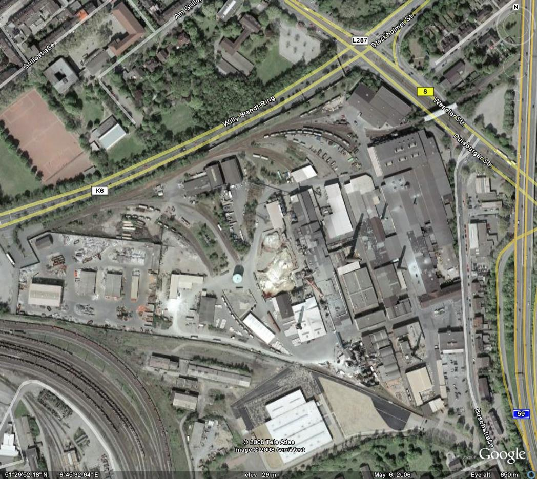 Glasregal Duisburg Duisburg Affordable Duisburg Steel Mill Factory Industry Old With