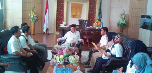 FWP Audensi dengan  Wawako Padang