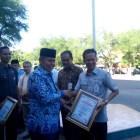 Bertabur Penghargaan Pada Haornas Padang