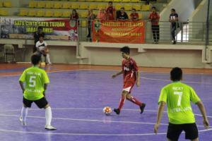 Futsal PON Sumbar Takluk Pada Laga Perdana