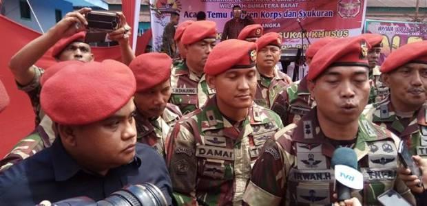 HUT Kopassus di Padang : Kasrem Minta Jalankan Tugas Secara Berkualitas dan Profesional