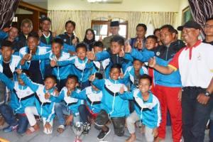 Wawako Padang Sambut Hangat Keberhasilan SSB Balai Baru Juara Turnamen Internasional