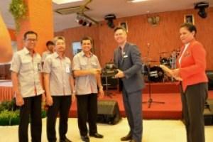 Walikota Fremantle Australia Kunjungi PT Semen Padang