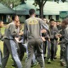 Semen Padang Dukung Dinas Sosial  Bina Anak Jalanan di Bataliyon 133/YS