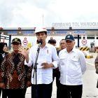 Presiden Jokowi Resmikan Tol Surabaya Mojokerto