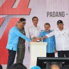 Presiden Jokowi Lakukan Ground Breaking Tol Padang-Pekanbaru