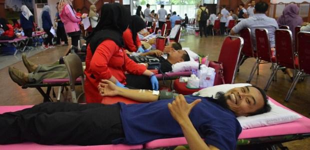 Gelar Donor, SPSP Kumpulkan 338 Kantong Darah