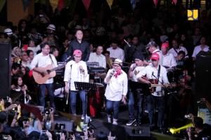 Elek Yo Band dengan Personil Menteri Kabinet Kerja Galang Dana Amal