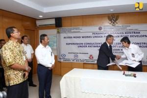 Kementerian PUPR Targetkan Jalan Akses Pelabuhan Patimban Selesai Akhir 2019