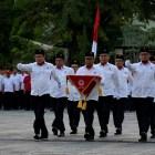 Upacara Kemerdekaan RI ke-73, Staf Pimpinan Semen Padang Jadi Paskibra