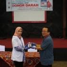 Donor Darah Serikat Pekerja Semen Padang Hasilkan 242 Kantong Darah