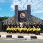 Kasrem 032 Wirabraja dan Ketua KONI Sumbar Lepas Kontingen Yong Mo Do Menuju Kejurnas Kasat Cup XIII