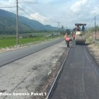 Kementrian PUPR Lakukan Peningkatan Kapasitas Jalan Menuju Danau Toba