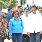 Presiden Jokowi dan Menteri Basuki Tinjau Penataan Kawasan Nelayan Kampung Sumber Jaya, Bengkulu