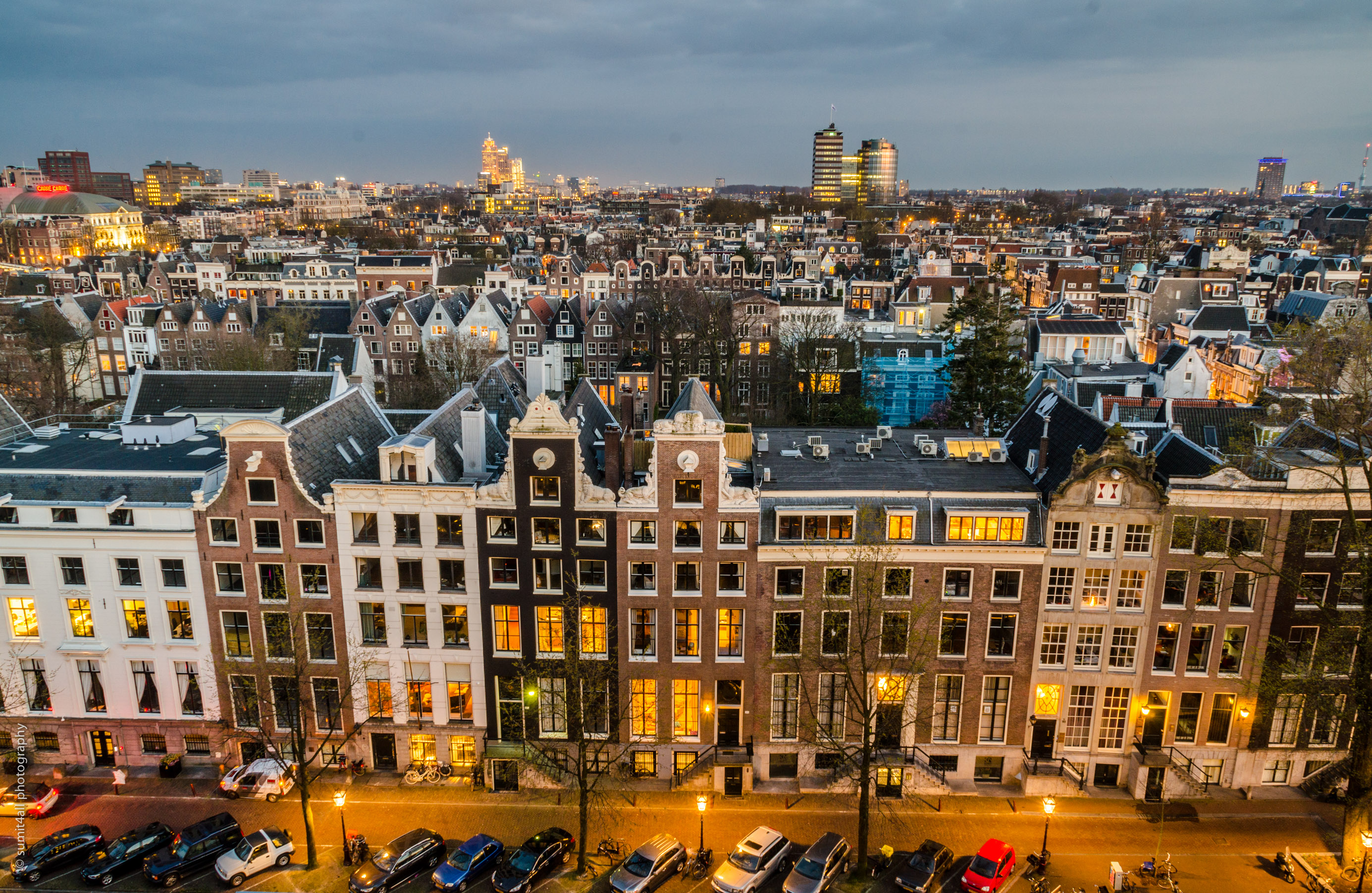 Amsterdam Skyline Old Or New Rich In Life Sumit4all Photography