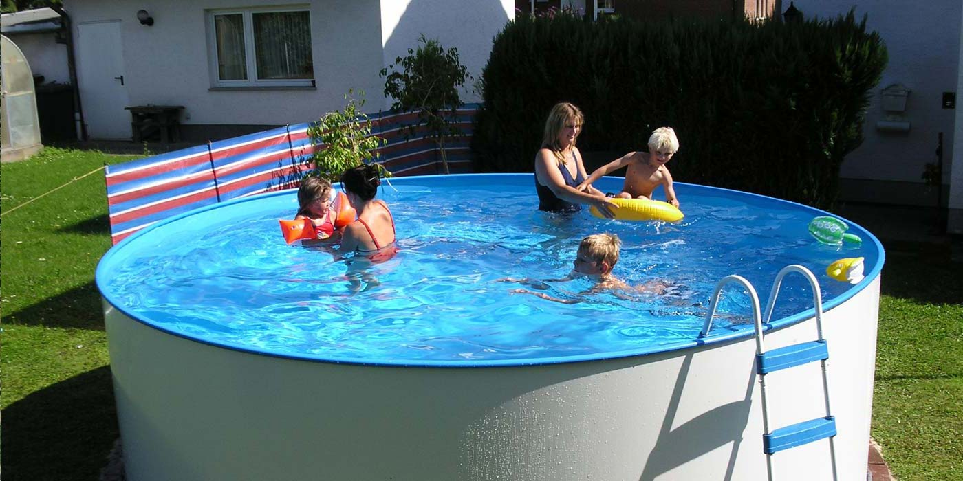Pool Filteranlage Set Summer Fun Einsteigerbecken
