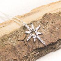 Silver Christmas Star Pendant