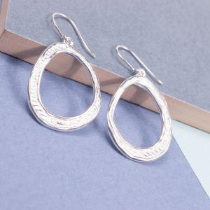 Silver Avgos Earrings