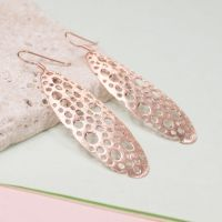 Silver Bubble Drop Earrings