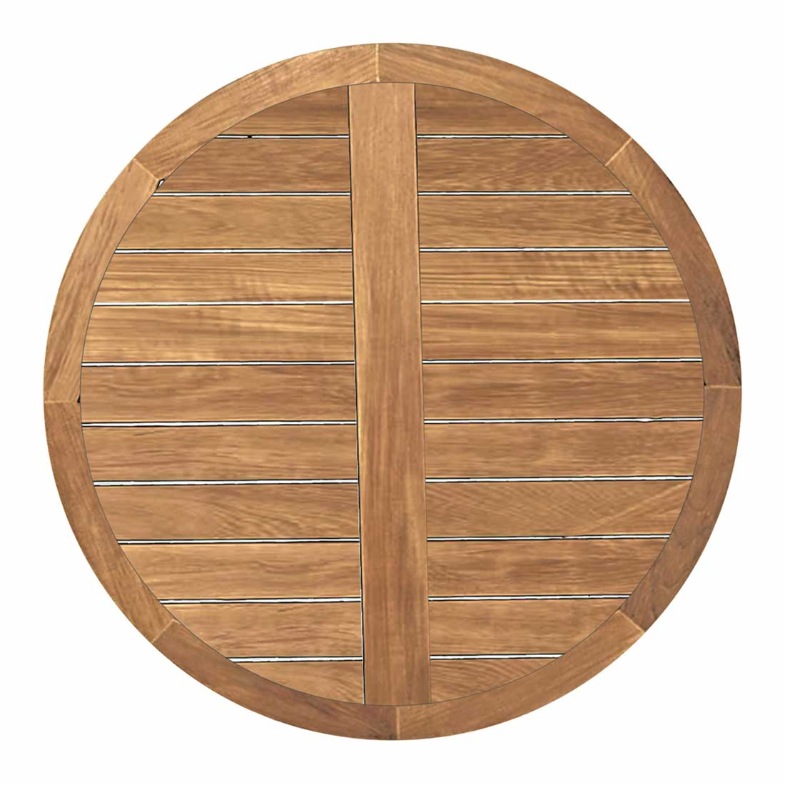Round Table Tops Club Teak 48 Quot Round Teak Table Top