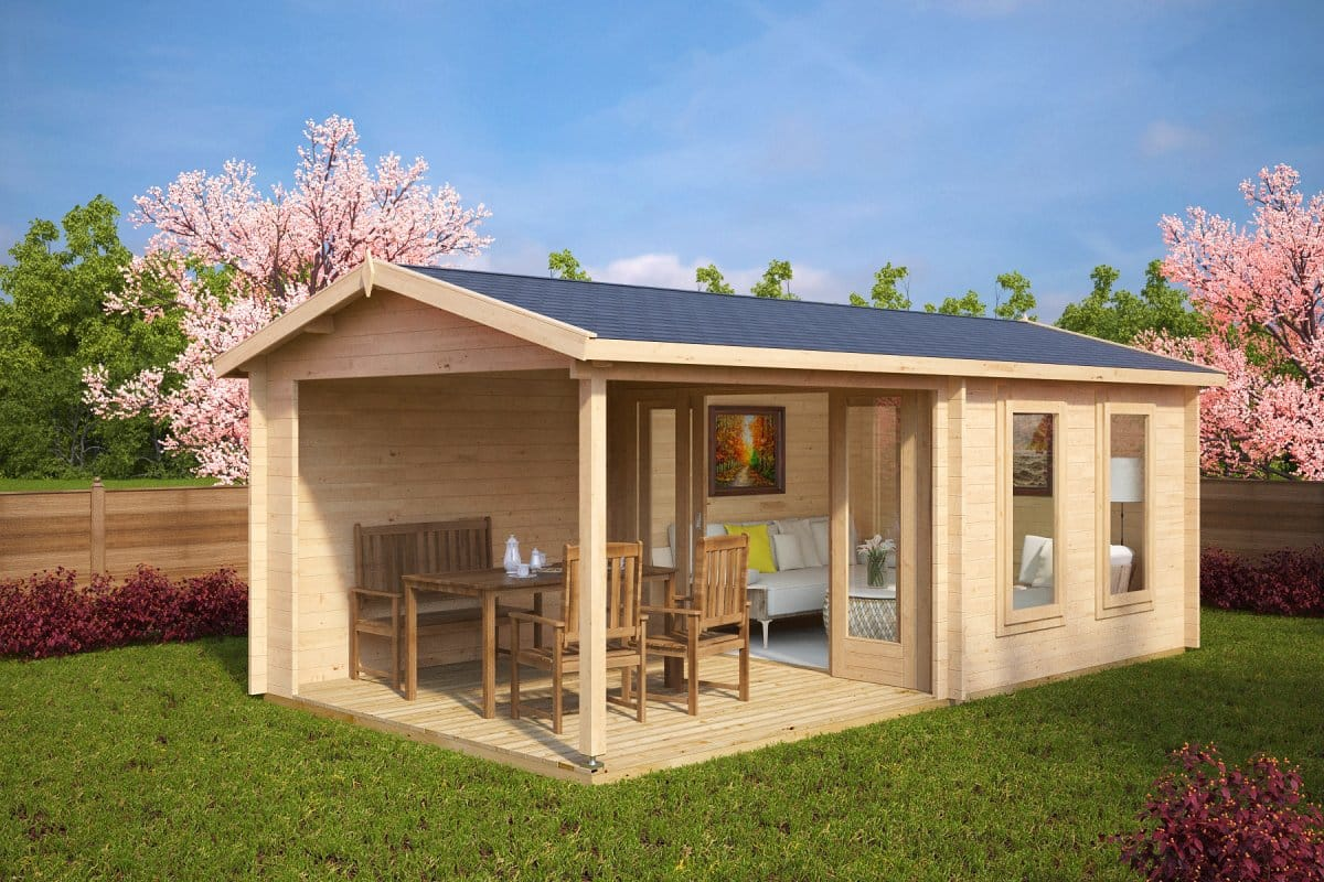 Diy Gartenhaus Diy Garden Log Cabins Summer House 24