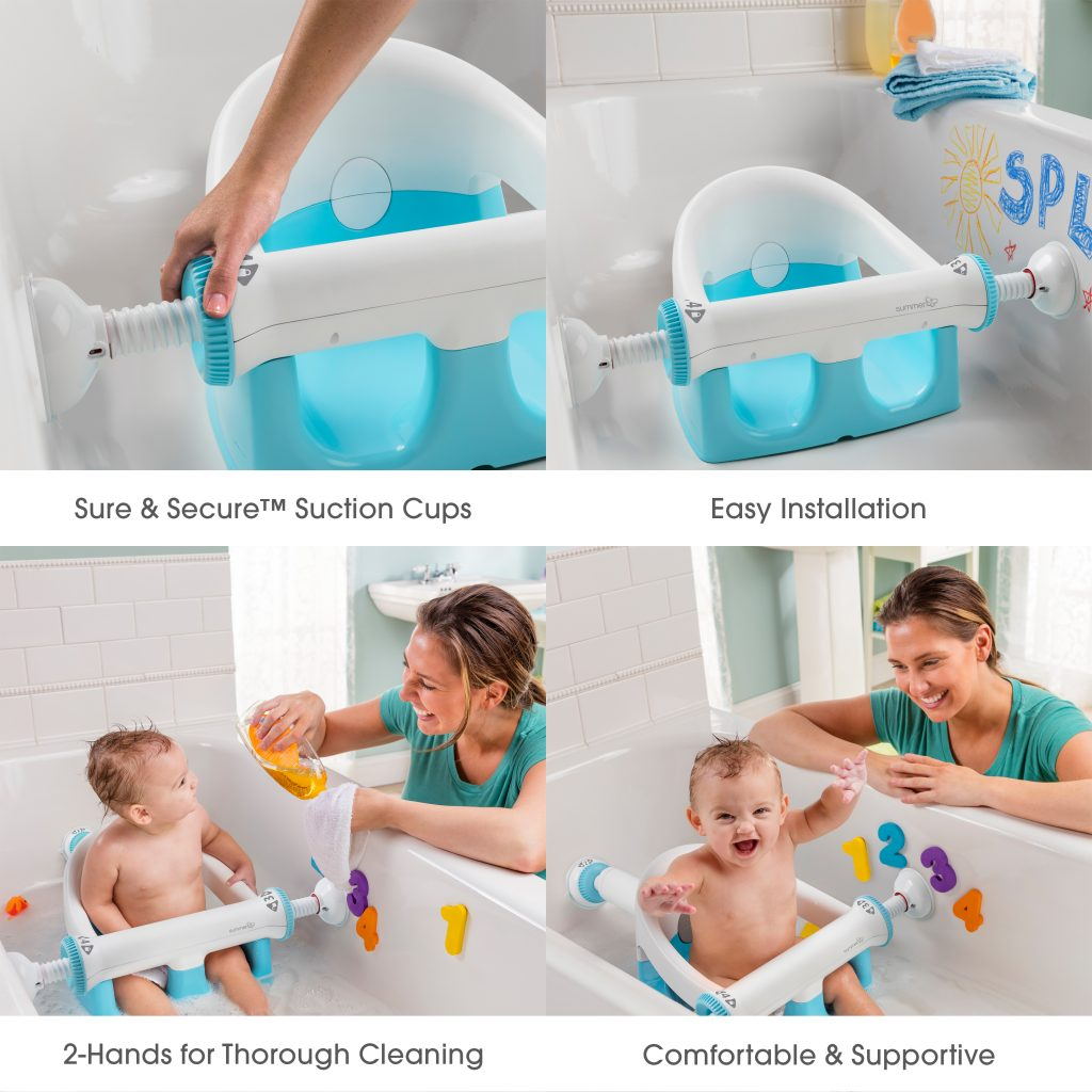 My Bath Seat Summer Infant Baby Products - Newborn Baby Bath Seat