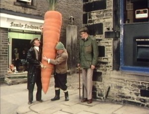A truly satisfactory carrot...