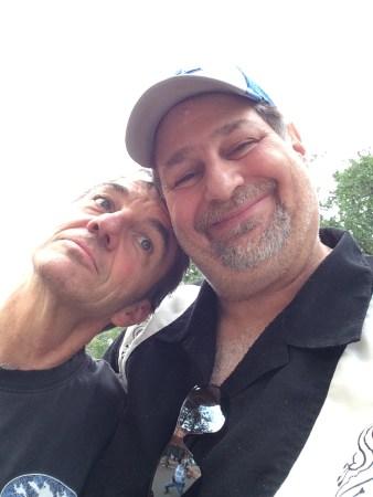 Hanging with good friend Bruce Wandmayer