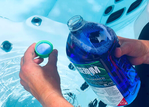 How to Treat Water in an Inflatable Hot Tub